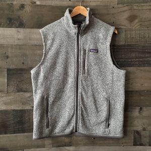 Patagonia full zip better sweater vest